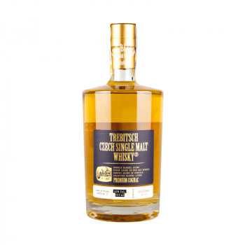 Trebitsch Czech Single Malt Whisky Premium Cognac 0,5L 40%
