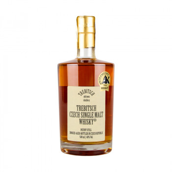 Trebitsch Czech Single Malt Whisky 0,5L 40%